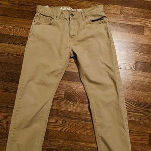 Levi's denizen khaki taper fit pants